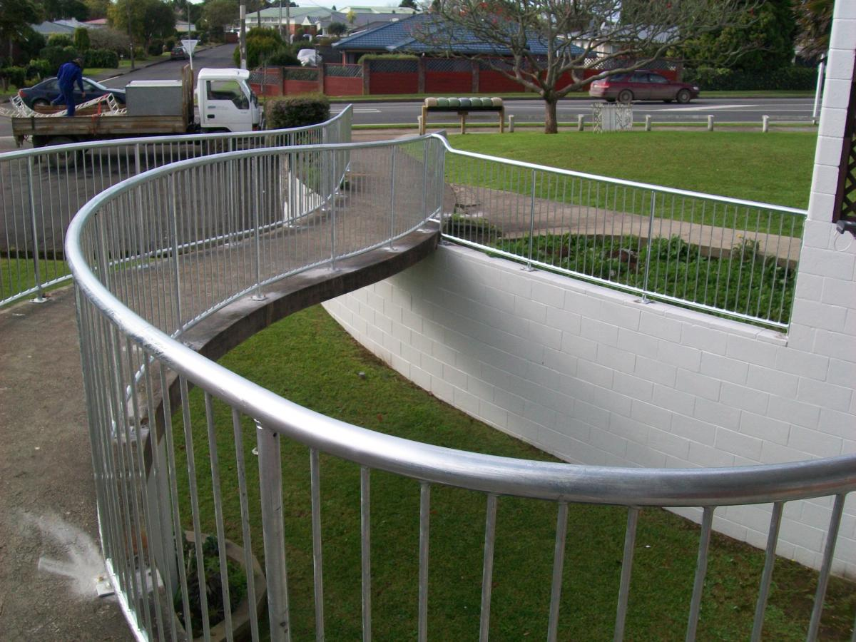 Handrails and Balustrades - Metal Gates, Canopies, Fencing